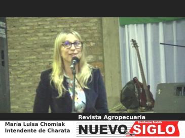 Maria Luisa Chomiak - Intendente de Charata