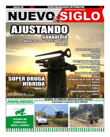 Revista Agropecuaria Nuevo Siglo 166 Abril 2018