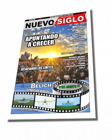 Revista Agropecuaria Nuevo Siglo Junio 2018, número 168, el algodón apuntando a crecer en la campaña 2018/19