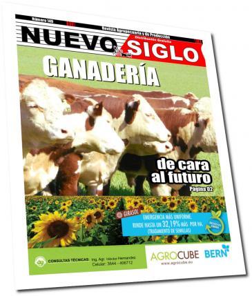 Tapa de la Revista Agropecuaria Nuevo Siglo de Noviembre de 2016
