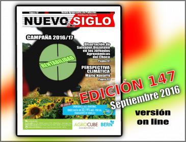 Revista Agropecuaria Nuevo Siglo correspondiente al mes de Septiembre de 2016