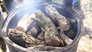 Producción De Carbón Vegetal En Hornos Portátiles