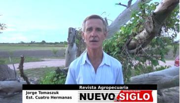 Entrevista de la Revista Agropecuaria Nuevo Siglo al productor Jorge Tomaszuk.