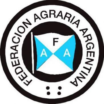 Productoes de Federación Agraria Argentina protestan en Chaco por el daño de las inundaciones