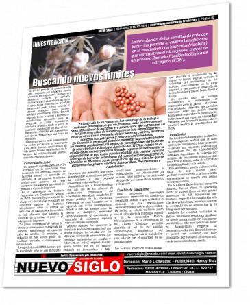 Coinoculación en soja - Revista Agropecuaria Nuevo Siglo - Página 2 de la edición de Mayo 2019