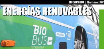 Programa BioBus se presentará en la Primera Jornada de Bioenergía organizada por la Revista Agropecuaria Nuevo Siglo