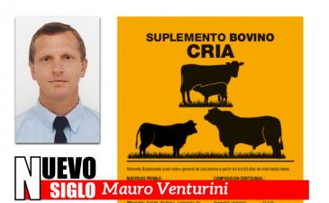 Suplemento Bovino Cría de la Unión Agrícola de Avellaneda, el Dr Mauro Venturini explica las ventajas de su uso.
