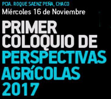 Primer Coloquio de Perspectivas Agrícolas 2017